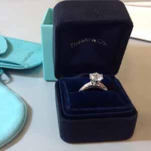 Tiffany Wedding Ring Box